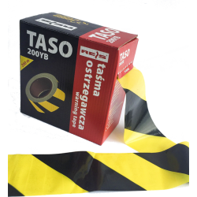 TAŚMA OSTRZEGAWCZA 200 /pudełko Ż/C